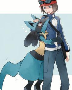 Pokémon X & Y Image - Zerochan Anime Image Board Calem Pokemon, Pokemon Kalos, Lucario Pokemon, Pokemon Manga, Pokemon Comics, Pokemon Fan Art, My Pokemon, Cool Pokemon, Pokemon Stuff