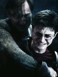 Everyone feels so bad for Harry in this scene but nobody looks at Lupins face... he just lost his last remaining best friend who accepted him for all he was, sure he has the order but he knew Sirius from a boy and now he's gone