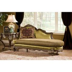 Benettiu0027s Italia Milania Chaise Lounge Italian Furniture Design, Furniture  Stores, Furniture Decor, Victorian