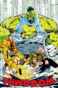 Hulk vs U-foes by Dale Keown...