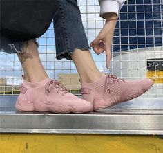 2019 Women's Sneakers Sports Gym Fitness Casual Trainers Casual Running Shoes Cute Sneakers, Chunky Sneakers, Wedge Sneakers, Platform Sneakers, Casual Sneakers, Sneakers Fashion, Casual Shoes, Casual Trainers, Sneakers Women