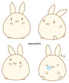 Chibi chicken by daieny on deviantart kawaii pinterest chibi chibi bunny by daienyiantart on deviantart ccuart Gallery