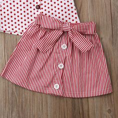 Department Name: ChildrenItem Type: SetsMaterial: CottonGender: GirlsCollar: O-NeckFit: Fits true to size, take your normal size Frocks For Girls, Kids Outfits Girls, Little Girl Dresses, Girl Outfits, Rock Outfits, Dress Outfits, Baby Girl Dress Patterns, Baby Dress Design, Frock Design