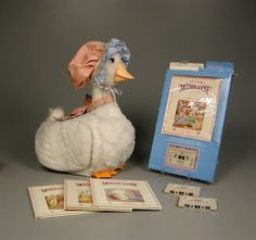 Ohhh how I loved my Talking Mother Goose, made by Worlds of Wonder (remember Teddy Ruxpin? Same company).  Lift wing, insert cassette - it's story time!