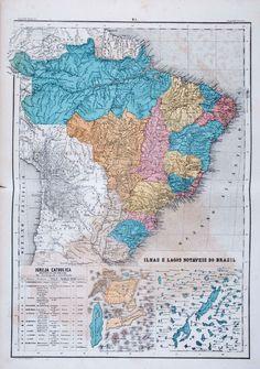 Atlas do Imperio do Brazil [...]. Mendes, Candido, 1818-1881 (org.)