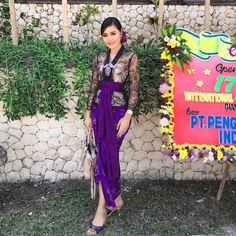 Kebaya Bali, Kebaya Dress, Balinese, The Selection, Sari, Actresses, Model, Outfits, Clothes