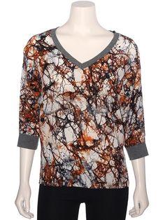 Azura Boutique - Fifteen Twenty Silk Dolman Print Top, $150.00 (http://www.shopazura.com/fifteen-twenty-silk-dolman-print-top/)
