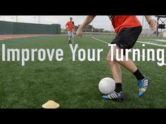 This video breaks down how to properly turn with the ball and tips on how to do it in game type situations.