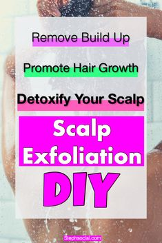 In a world where dry shampoo is life, trust me you need a good scalp exfoliation DIY and scalp brush to remove all that scalp build up! Exfoliate Scalp, Scalp Scrub, Oily Skin Makeup, Oily Hair, Diy Exfoliator, Dandruff Solutions, Thinning Hair Remedies, Getting Rid Of Dandruff, How To Grow Your Hair Faster