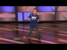 OH MY GOSH, this kid is so talented! 6 years old and already has moves...