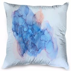 """A beautiful abstract artwork, """"Composition will add a pop of color to any living space. Forget Me Not Blue, Shadow Frame, Framed Prints, Canvas Prints, Printed Cushions, Floating Frame, Neutral Colors, Blush Pink, Color Pop"""