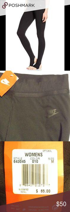 Nike Leggings NWT Nike Womens Burnout Training Leggings; Black lettering on Black at waistband. Nike Pants Leggings