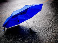 5b99882a54e6c Blue Umbrella in the rain Rain Photo, Rain Umbrella, Blue Umbrella, Under My