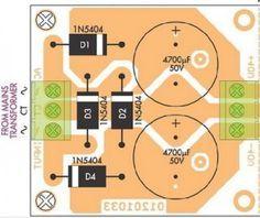 50W-70W Power Amplifier with 2N3055 & MJ2955