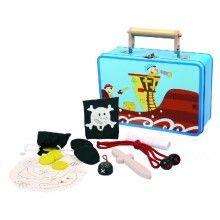 Simply for Kids // Blikken koffer met piratenspullen