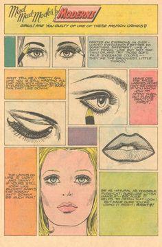 60s makeup crimes