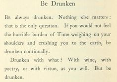 by Charles Baudelaire.  Beautiful