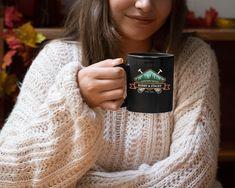 Customized Mug With Your Name Text & Date, 11oz Black Coffee Mug, Birthday Mugs, wedding gifts, Bridal Shower Gift, Christmas Gift, Custom Coffee Cups, Trump Christmas, Volume And Capacity, Customised Mugs, Black Coffee Mug, Birthday Mug, Ceramic Cups, Mug Designs, Custom Items