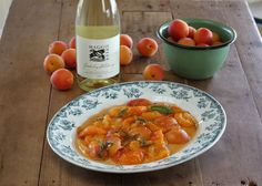 Fresh Apricots Poached in Sparkling Chardonnay - Maggie Beer