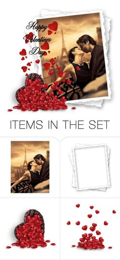 """Happy Valentines Day...."" by qiou ❤ liked on Polyvore featuring art"
