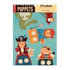 Marionetas Dedos Piratas