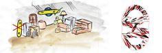 Snowboard storage rack Storage Rack, Snowboard, Display, Floor Space, Billboard