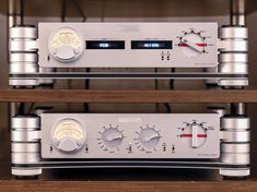 Nagra's HD DAC with matching HD Pre-amp. High End Audio, Amp, Digital, Projects
