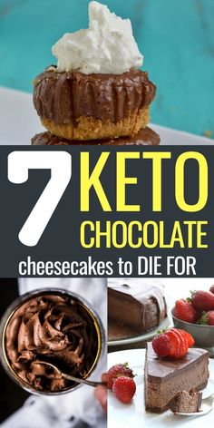 Chocolate Cheesecake Recipes, Low Carb Cheesecake, Cheesecake Crust, No Carb Recipes, Ketogenic Recipes, Keto Foods, Lunch Recipes, Ketogenic Diet, Breakfast Recipes