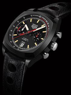 La Cote des Montres : La montre TAG Heuer Heuer Monza 40th Anniversary 2016 - 1976-2016: 40 ans d'histoire. Une célébration avec une belle réédition plus que jamais fidèle à l'ADN de cette montre iconique