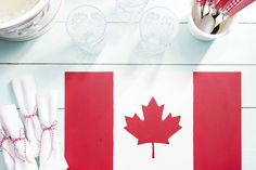 Canadian Living is the lifestyle brand for Canadian women. Get the best recipes, advice and inspired ideas for everyday living. Heart Template, Flower Template, Flag Template, Crown Template, Leaf Crafts, Flower Crafts, Maple Leaf Template, Canada Celebrations, Canadian Quilts