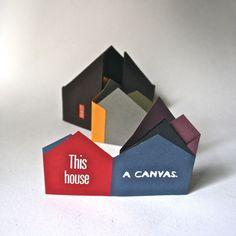 Limited Edition Artist Book  Artist House  Handbound by DebraGlanz, $90.00