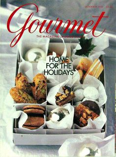 Buy any of our maazines and get another for 50% off. The 2001 December Holiday Issue, Gourmet Magazine, Volume LXI, Number 12