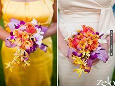 tropical bouquets | VIA #WEDDINGPINS.NET