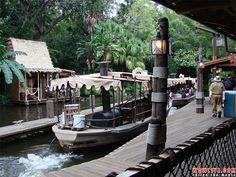 10 Slow Moving Walt Disney World Rides- Jungle Cruise- Magic Kingdom