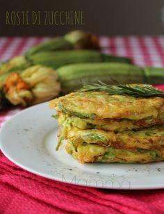 Rosti di zucchine polpettine ricetta semplice cucinare foto blogGz blog food designer tutorial Giallozafferano