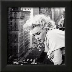 'Marilyn Monroe' Framed Photographic Print