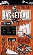Reminisce Real Sports Basketball 3D Sports Scrapbook Sticker