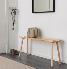 IKEA & Hay Debut Their Sleek, Minimalist Furniture Collection - UltraLinx Ikea X Hay, Ypperlig Ikea, Ikea Bench, Interior Wall Colors, Interior Walls, Best Interior, Home Interior, Interior Office, Interior Design Minimalist