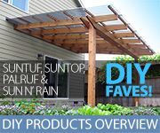 DIY Favorites Image (includes: Suntuf, Suntop, Palruf and Sun n' Rain)