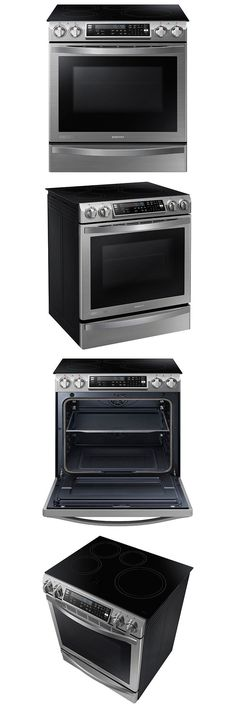 ranges and stoves samsung ne58h9970ws chef collection 30 slidein induction range dual