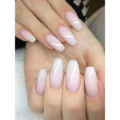 So pretty ombre french manicure