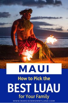 Looking for fun things to do in Maui? Read my in-depth guide to ALL of the Maui luaus and find the right Maui luau for your family! Hawaii Travel Guide, Maui Travel, Travel Tips, Travel Ideas, Maui Luau, Maui Restaurants, Hawaii Hotels, Hawaii Honeymoon