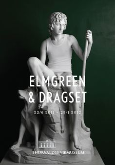 Elmgreen & Dragset at Thorvaldens Museum exhibition poster.