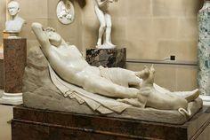 Antonio Canova (1757-1822) - Sleeping Endymion and his dog