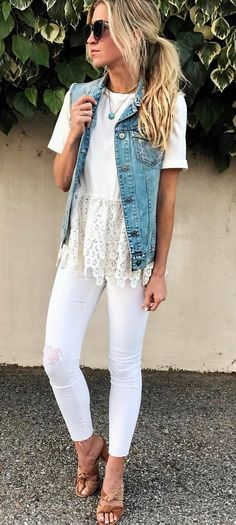 Summer casual style addict