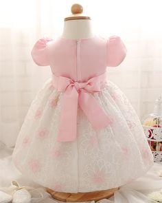 ebde0ccc77f5 tutu dress summer dress newborn infants 1 year Birthday party dress with  floral pattern newborn infant