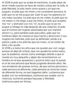 "«""Nos ha salido feminista"". No. … #detodo # De Todo # amreading # books # wattpad Quotes En Espanol, Feminist Quotes, Powerful Quotes, Power Girl, Strong Women, Inspire Me, Texts, Poetry, Sad"