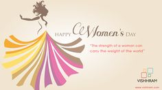 Celebrate Women's Day by wishing her, greeting her, and making her feel how important and special she is; today is the day to wish your wife, mom, sis, grandma or aunt with a thoughtful message or a funny wish! Make them feel appreciated and loved. Happy Woman's Day.