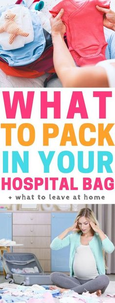 List of things to pack in your hospital bag. Hospital bag checklist | hospital bag tips | pregnancy hospital bag | when should you pack your hospital bag | what to take to the hospital | hospital bag checklist for baby | hospital bag checklist for mom | h Pregnancy Hospital Bag Checklist, Pregnancy Tips, Pregnancy Outfits, Pregnancy Shirts, Die A, Hospital Birth, Budget Planer, Preparing For Baby, Baby Development