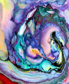 swirls of color